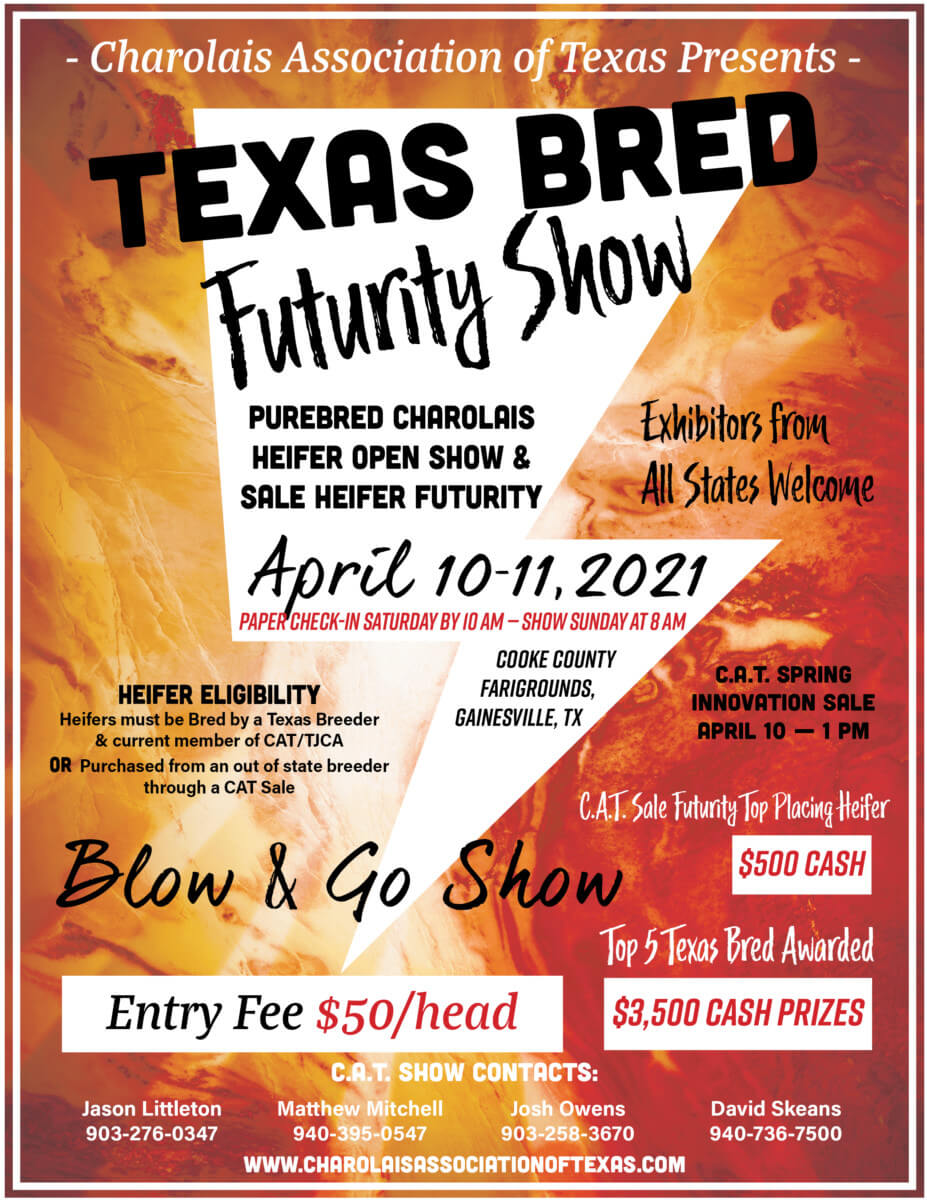 Texas Bred Futurity Show @ Cooke County Fairgrounds | Gainesville | Texas | United States