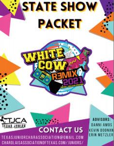 White Cow Remix - 2021 TJCA State Show @ Brazos County Expo Complex | Bryan | Texas | United States