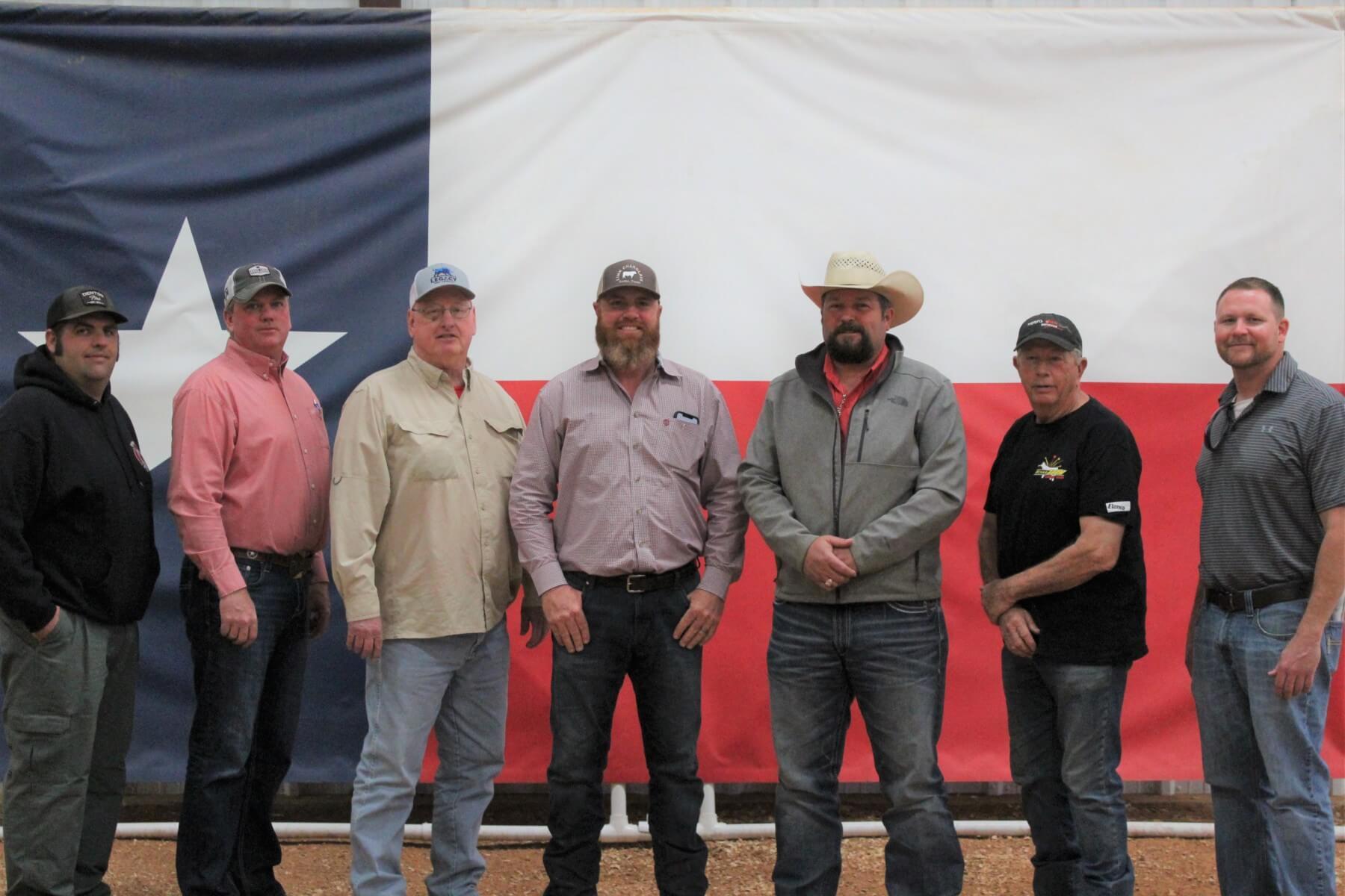 Left to Right: Matthew Mitchell, Eric Dennis, Larry Ludeke, Chris Link, Josh Owens, Gary Biggs, and David Skeans